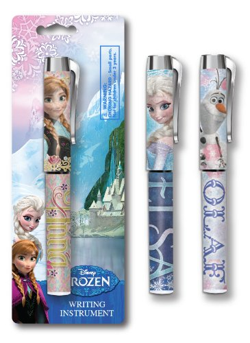 National Design Frozen Holographic Ultra Logo Pen on Blistercard