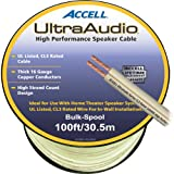 100' UltraAudio Speaker Cable - 16-Gauge CL3