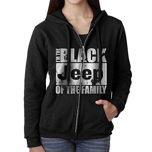 The Black Jeep Of The Family Women's Zip-up Sweatshirt