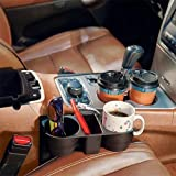 Okayji Car Organizer for Accessories & Cup Holder