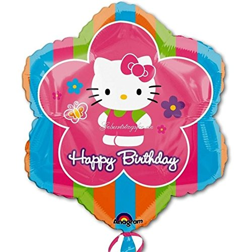 Hello Kitty Flower 18in Balloon