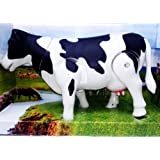MILK COW SHAKING LEGS HEAD AND TAIL,MAKES SOUND LARGE SIZE TOY