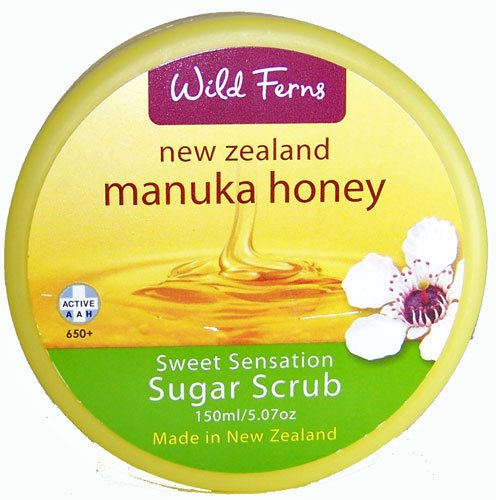 Manuka Honey Sugar Scrub by Wild Ferns