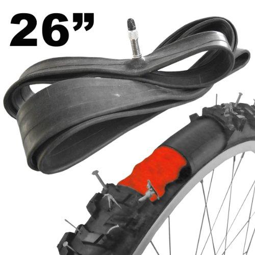 Dunlop Selbstreparierender Fahrradschlauch Magic Gel 26 28 Zoll mit Dunlop-Ventil (26 Zoll, 1 Stück)