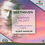 echange, troc  - Beethoven: Symphonies Nos. 2 & 5 [Hybrid SACD]