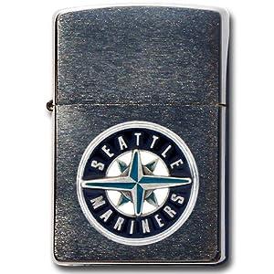 MLB Seattle Mariners Zippo Lighter by Siskiyou Sports