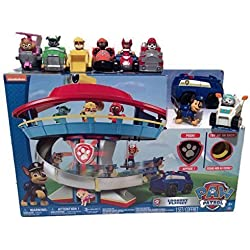 Paw Patrol Lookout Playset with Complete Rescue Racer Figures