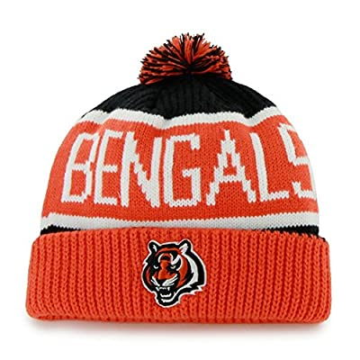 NFL Cincinnati Bengals Men's Calgary Knit Cap, One Size, Black