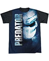 Sublimation Black Back: Predator Mask T-Shirt