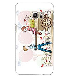 Axes Premium Designer Back Cover for Samsung Galaxy Note7 (-d824