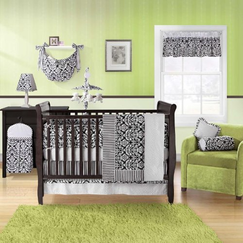 Taylor 4 Piece Baby Crib Bedding Set with Bumper by Bananafish
