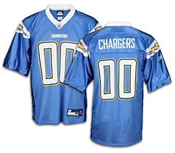 San Diego Chargers NFL Mens Team Replica Jersey, Blue by Reebok