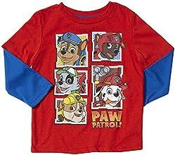Nick Jr Little Boys39 Paw Patrol Graphic Tee Toddler