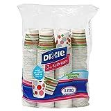 Dixie - Disposable Bathroom Cups, Coordinating Design 3 oz. - 1200 Cups
