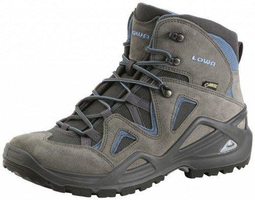 Lowa Scarpe da trekking da uomo Zephyr GTX Mid Uomo, 310550-9743, Grau, 40 EU / 6.5 UK