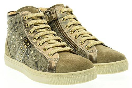 NERO GIARDINI teen sneakers alte A631663F/501 (35/39) 36 Beige