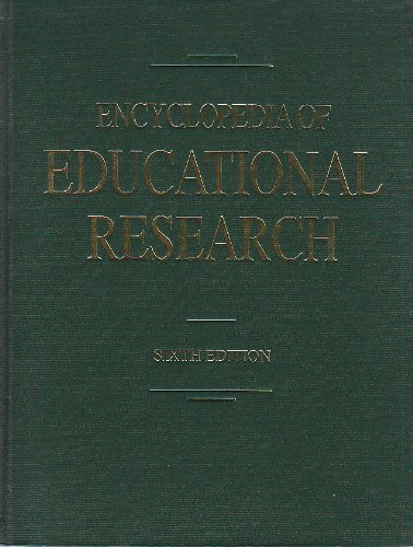 Encyclopedia of Educational Research (Set of 4 Volumes) PDF