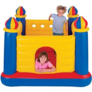 INTEX Inflatable Jump-O-Lene Ball Pit Castle Bouncer