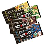 Raw Revolution 100 Calorie Organic Live Food Bar, 4 Flavor Variety Count,  0.8-Ounce (Pack of 24)