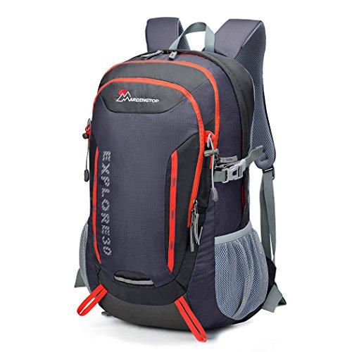 Mountaintop 30L Zaino Trekking /Zaino PC/Zaino casual /Zaino Sacchetto/Zaino escursionismo 54*41*22 cm Grigio