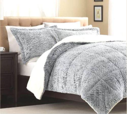 Faux Fur Comforter King front-711761