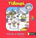 echange, troc Thierry Courtin - Vive les 4 saisons ! : 4 cubes et un livre