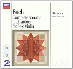 Bach Js Complete Sonatas Partitas For Solo Violin from Decca (UMO)