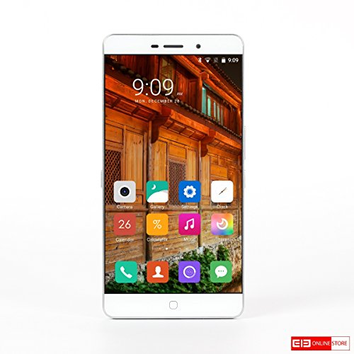 Elephone P9000 Lite 4G Phablet – WHITE 4GB RAM 32GB ROM Android 6.0 MTK6755 Octa Core 2.0GHz 5.5 inch FHD Screen 13.0MP Back Camera