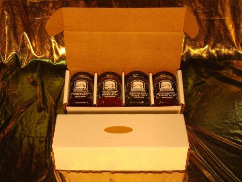 Lynchburg Tennessee Whiskey Jelly Gift Box #1 (Gourmet,Historic Lynchburg Tennessee Whiskey Brand,Gourmet Food,Jams, Jellies & Preserves,Jams & Jellies)