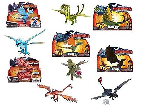 Spinmaster - 0318030 - Figurine Animation - Action Dragons - Modèle Aléatoire