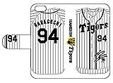 阪神タイガース選手サイン入り背番号モデル原口選手手帳型スマホケースiPhone6/6S