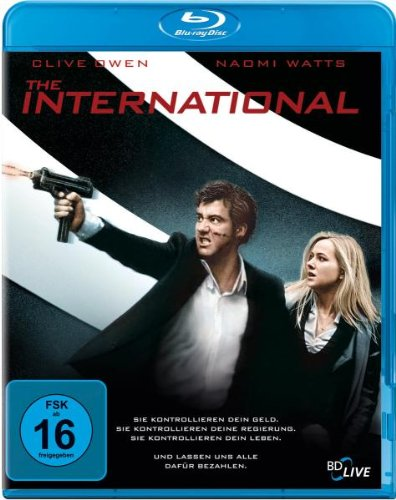 The International - Thrill Edition [Blu-ray]