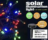 太陽発電!ソーラーLEDイルミネーション♪かんたん取付