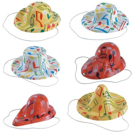 librolandia-05401-24-cappelli-mignon-serigrafati-cm12-modelli-e-colori-assortiti