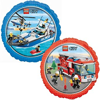 LEGO City Foil Balloon Party Accessory