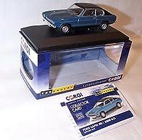 corgi vanguards ford capri MK1 3000 GXL blue car 1.43 scale diecast model