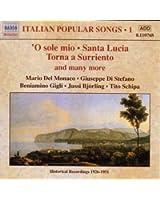 Chansons Italiennes (Enregistrements 1926-1951) /Vol.1