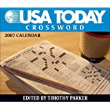 USA Today Crossword: 2007 Day-To-Day Calendar ~ Timothy Parker