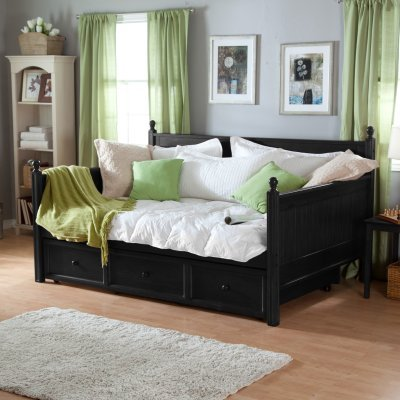 Casey Daybed - Black - Full - Rn744-1