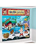 Jake & the Neverland Pirates Giant Scene Setter Wall Decorating Kit Birthday Party