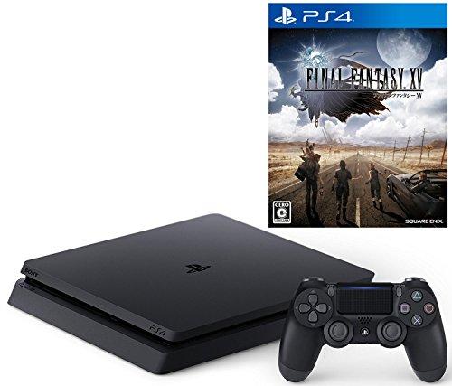 【12/12プライム会員限定 参考価格から8,376円OFF】PlayStation 4 ジェット・ブラック 500GB(CUH-2000AB01)+ ファイナルファンタジー XV