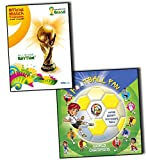 Eric Verschueren Fifa Fifa World Cup Brasil 2014 Official Match Programme and FootballFan 2 Books Collection (Fifa World Cup Brasil 2014 Official Match Programme, Football Fan 2014 Football World Cup Activity,Games, Stickers, Scorecard, Facts Book)