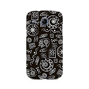 Motivatebox- Primitive Symbols Premium Printed Case For Samsung Grand Duos 9082 -Matte Polycarbonate 3D Hard case Mobile Cell Phone Protective BACK CASE COVER. Hard Shockproof Scratch-