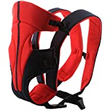 Ecosusi Baby Carrier Baby Infant Sling Strap Designer Baby Wrap Front and Back (Red)