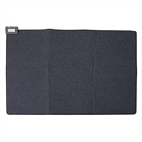 山善(YAMAZEN) 省エネふわふわホットカーペット本体(1.5畳タイプ) ブラック NUF-E157