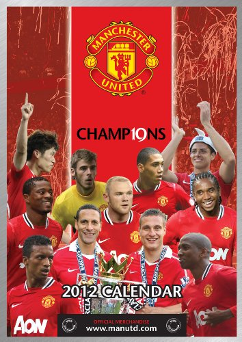 Official Manchester United FC A3 Calendar 2012