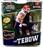 McFarlane Toys Action Figure - NCAA College Football Series 4 - TIM TEBOW (White Jersey) at Amazon.com