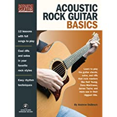 Acoustic Rock Guitar Basics  Acoustic Guitar Private Lessons  [Import] available at Amazon for Rs.748
