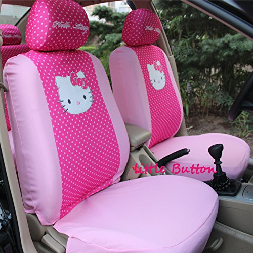 Girly Car Seat Covers And Mats For Women