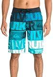 Quiksilver Comp Word Stripe Uea21 Boardshort Homme